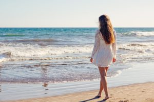 beach-young-woman