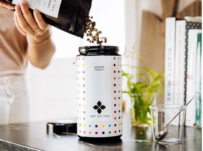 Art of Tea tea container