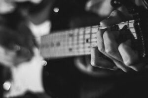 guitar finger