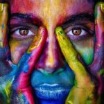 painted-face