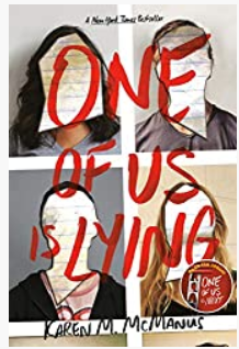 one of us is lying, by Karen M McManus - a book review