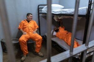 prisoners talking